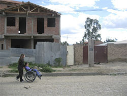 Reunited at last, Carmen and Carla seek medical help in Cochabamba.