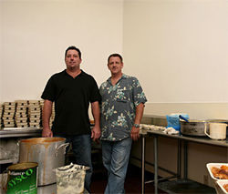 Former Deli House employees Glenn Dowler and Rich Hardy have their own business now.