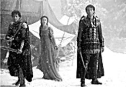 Henderson-Boyle, Knightley, Owen (left to right): Just another suicide run