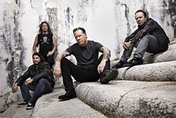 Behold Metallica, gods of metal.