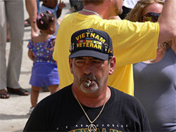 Richard Entriken,&amp;nbsp;smoking a cigar at 1st Step.&amp;nbsp;Family members say Richard had trouble reading, and that&amp;nbsp;AA&#039;s The Big Book was probably the first he ever finished.