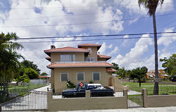 Gerardo Machado&#039;s former home in Allapattah.