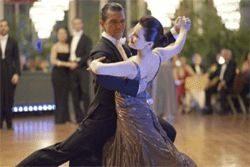 Banderas and Anna Dimitrie Melamed: Who knew he could waltz?