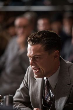 DiCaprio as Hoover: Quite the canny casting move.