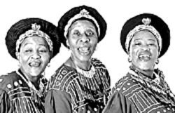 Mahotella Queens represent South Africa