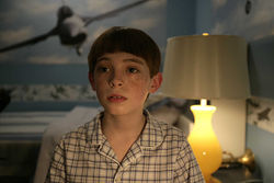 Snyder as Timmy: Literal-minded, self-absorbed, and anxious.