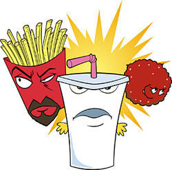 Frylock, Shake, and Meatwad