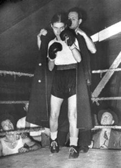 """Battling Barbara"" in the 1940s"