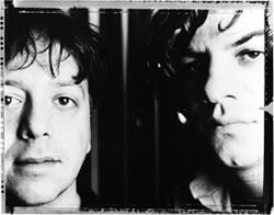 These men may or may not shoot LSD into their eyeballs: Ween's Aaron Freeman (left) and Mickey Melchiondo.