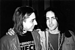 Nice Mardi Gras beads: Putesky and Trent Reznor in happier times