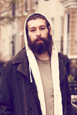 Matisyahu in his hirsute persona.