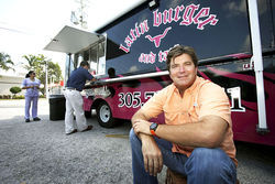 Latin Burger and Taco truck is owned by Jim Heins.