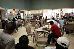 Day laborers meet at the El Sol Center. The Town of Jupiter rents out the space for $1 a year.