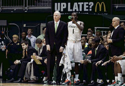 In his second season at UM, Larranaga has steered the Hurricanes on a 14-game winning streak.