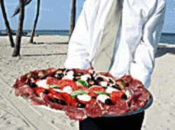 Oceanside antipasto goes for 12 smackers.