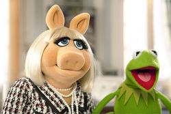 Miss Piggy and Kermit make a joint return.