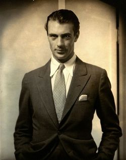 Steichen&#039;s shot of a dressy Gary Cooper from 1930 shows the movie star at age 29.