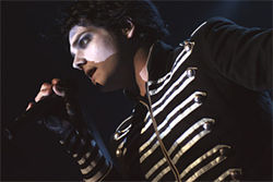 My Chemical Romance lead singer Gerard Way