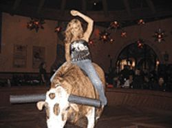 Endangered species: Tequila Ranch is one of the few places you'll find a mechanical bull.