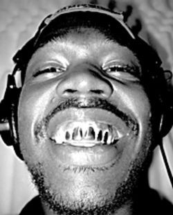 Killa Bean cracks a grin, while his partner, Unique, lays down rhymes (opposite)