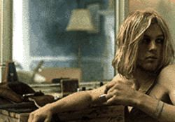 Michael Pitt, as a melancholy, drug-addicted recluse