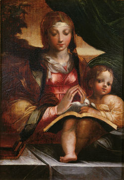 Francesco Mazzola's Il Parmigianino Madonna With Child.