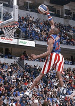 Slam dunks and clownish outfits are only part of the Globetrotters' allure.
