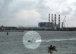 A webcam at Port Everglades purportedly captured Aguiar's final exit on the T.T. Zion.