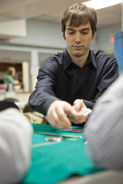Maxwell Fritz made hundreds of thousands gambling online.
