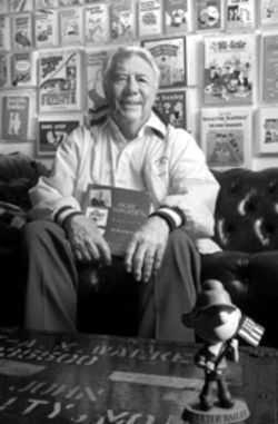 For more than a quarter-century, Mort Walker, creator of &quot;Beetle Bailey,&quot; has been the driving force behind the International Museum of Cartoon Art
