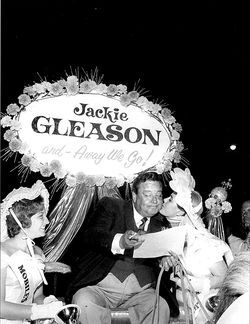 When the harness track opened, it drew A-list celebrities like Jackie Gleason.