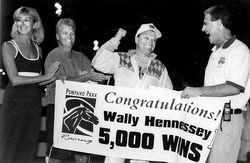 Wally Hennessey and Joe Pavia Jr. have been regulars in the winner&#039;s circle for decades.