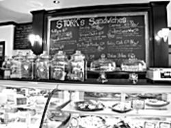 Stork's Café and Bakery in Wilton Manors serves 175,000 patrons annually and generates $500,000 in revenue.