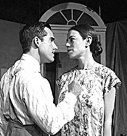 Carlos Orizondo and Deborah L. Sherman in the first-ever production of the Pulitzer Prize winning play from Nilo Cruz