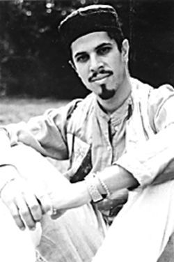 Tropical poet Adrian Castro.