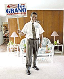 "Despite Grano's troubled past, ""He's one of the cleanest, most upstanding citizens I know."""