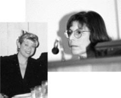 Two of the women in Jim Kane's life are city commissioner Gloria Katz (right), whom he advises, and his wife, Pam, who tried to protect him from a pesky reporter