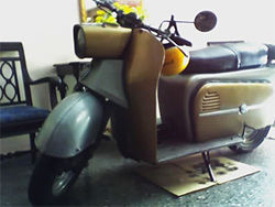 This  über-mod '63 German scooter is a steal at 1,600 pesos, or $1,782.