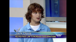 Jack Davis during a 2010 appearance on The Early Show.
