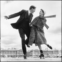 Suzy Parker and Robin Tattersall.