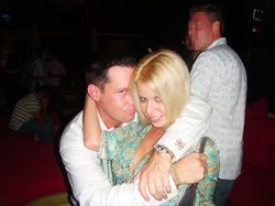 Rich and Brianna were active in the South Florida nightlife scene.