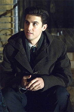 Milo Ventimiglia plays Rocky's kid.