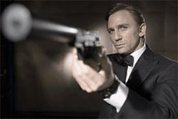 It's not just wham-bam-thank-you-ma'am for this Bond (Daniel Craig).