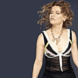 Smile? Sandra Bernhard doesn't even want to look at you.