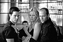 Mark Wahlberg, Charlize Theron, and Jason Statham: They usher you in and treat you nice.