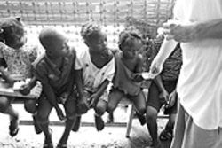 The pills Jackson gave orphans in Port-au-Prince forced the worms from their stomachs.