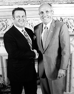 Yet another celebrity photo op: Scott Rothstein with Rudy Giuliani.