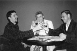 Three Vietnam vets toast better days