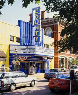 County shows Davis Cone's fascination with movie houses.