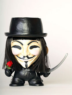 "Gaby Esteves: ""V for Vendetta"""